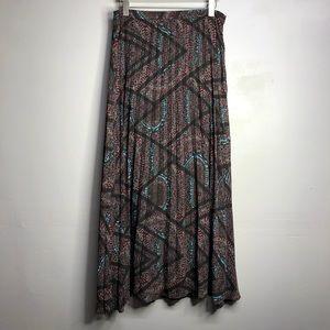 Anthropologie Lucy & Laurel maxi skirt size: Med